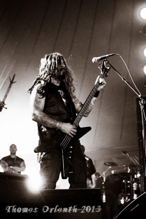 Krisiun au Hellfest 2013