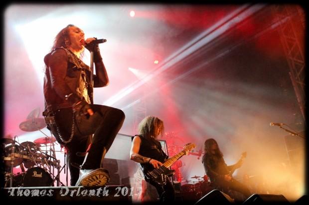 Moonspell au Hellfest 2013