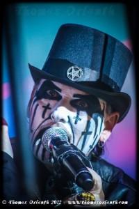 King Diamond au Hellfest 2012