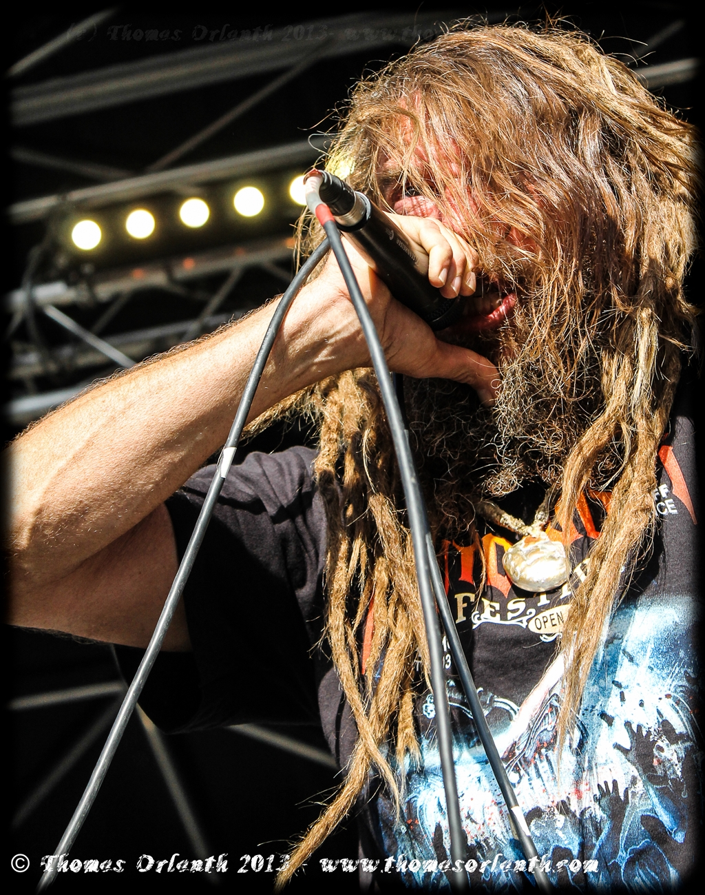 Decrepit Birth au Motocultor 2013