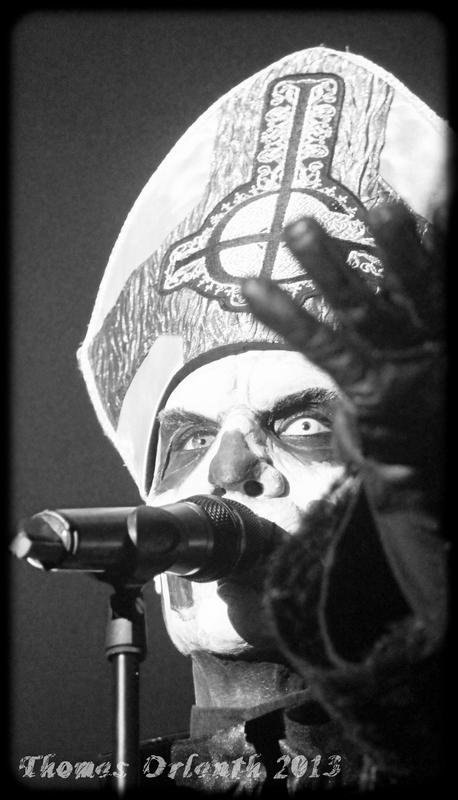 Ghost au Hellfest 2013