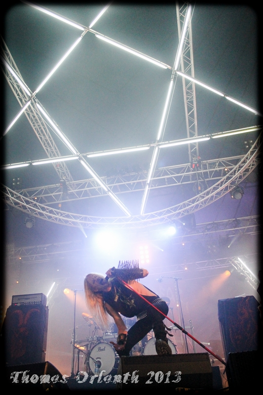 Kampfar au Hellfest 2013