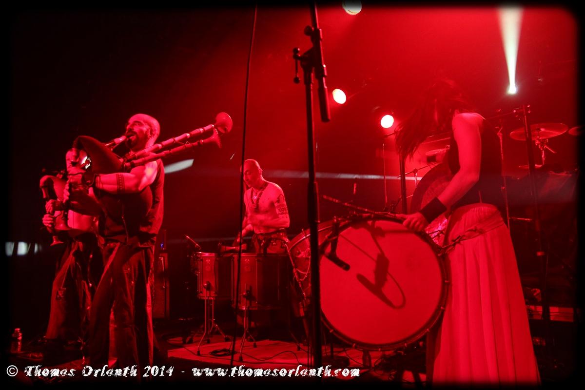 Barbarian Pipe Band au Festival de Chair et d'Acier 2014 à Mâcon