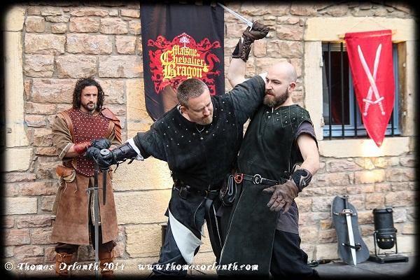 La Fête Médiévale du Festival de Chair et d'Acier 2014 à Mâcon