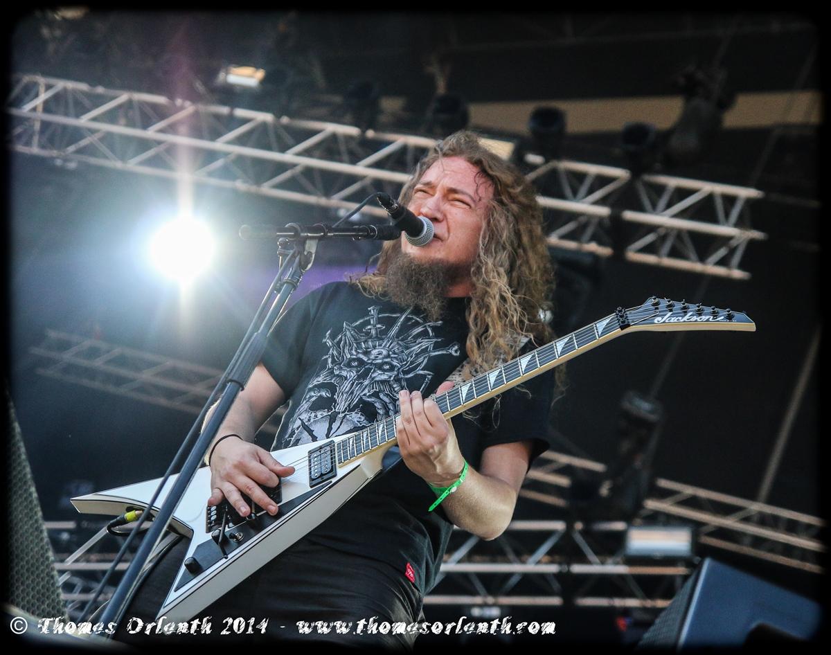 Angelus Apatrida au Hellfest 2014