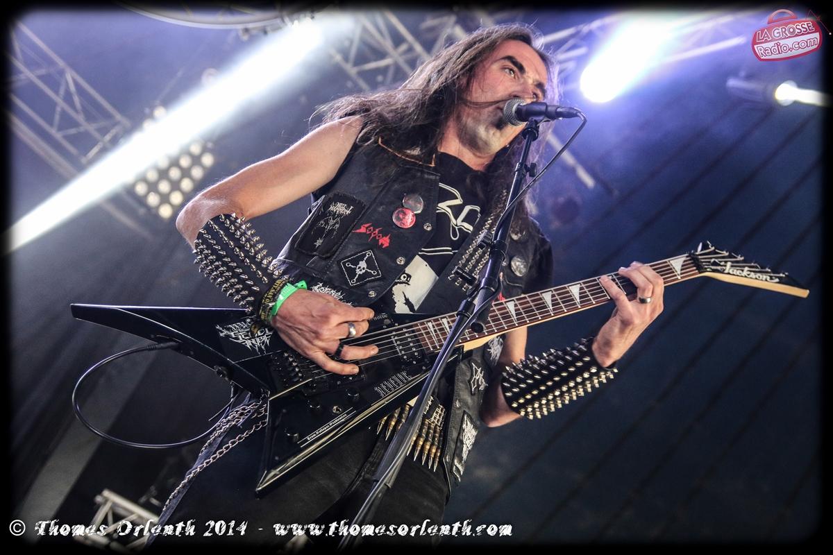 Necroblood au Hellfest 2014