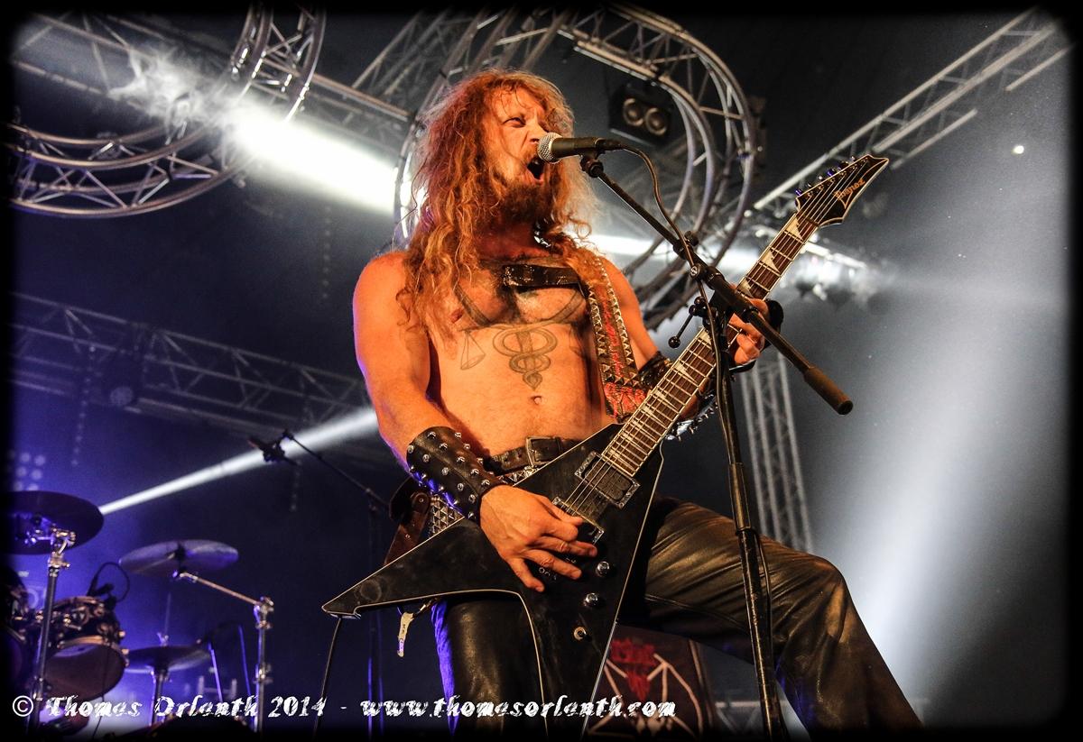Deströyer 666 au Hellfest 2014