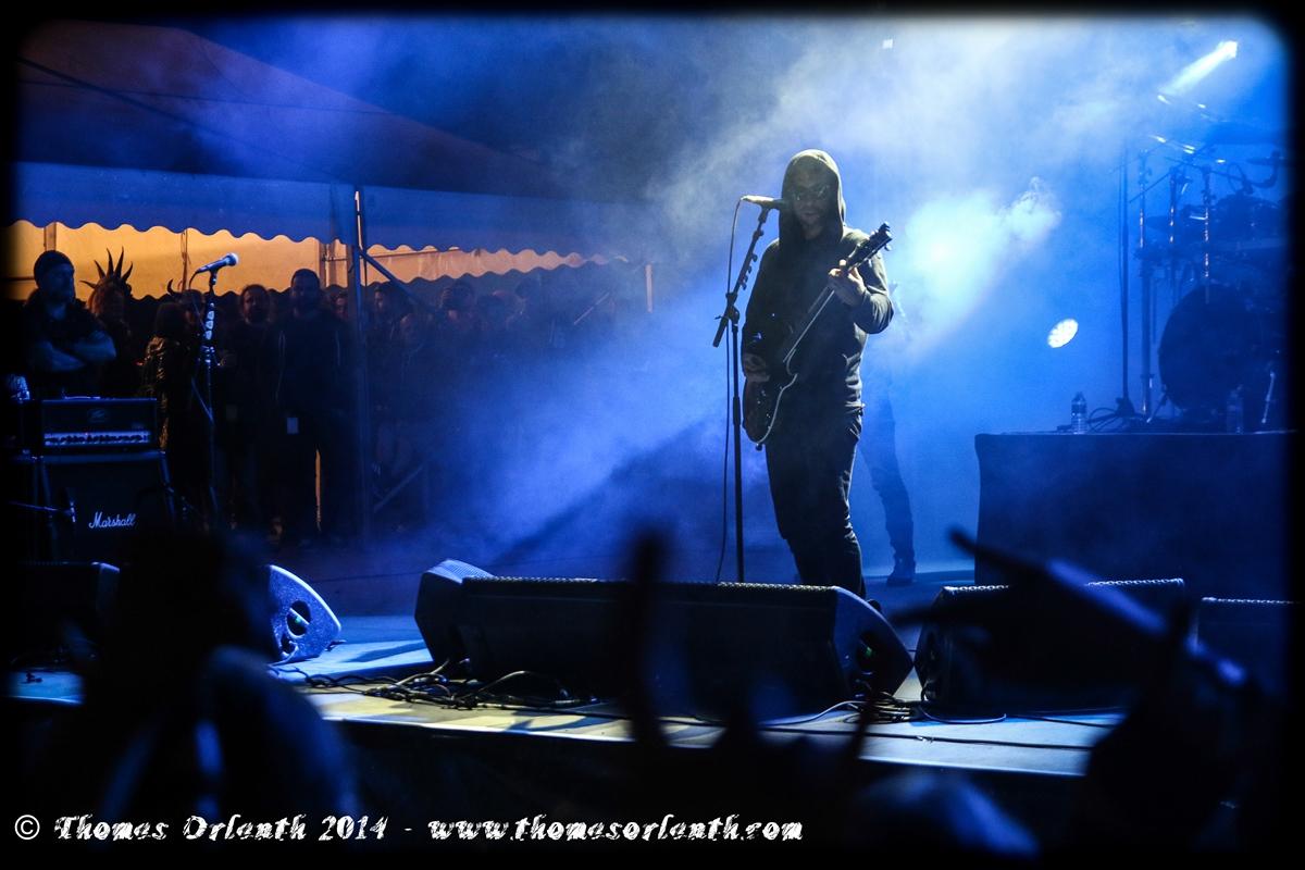 Behemoth au Motocultor 2014