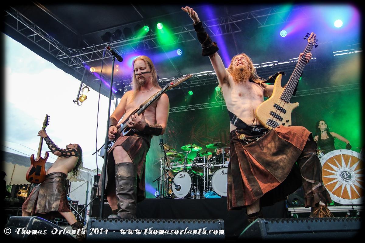 Ensiferum au Motocultor 2014