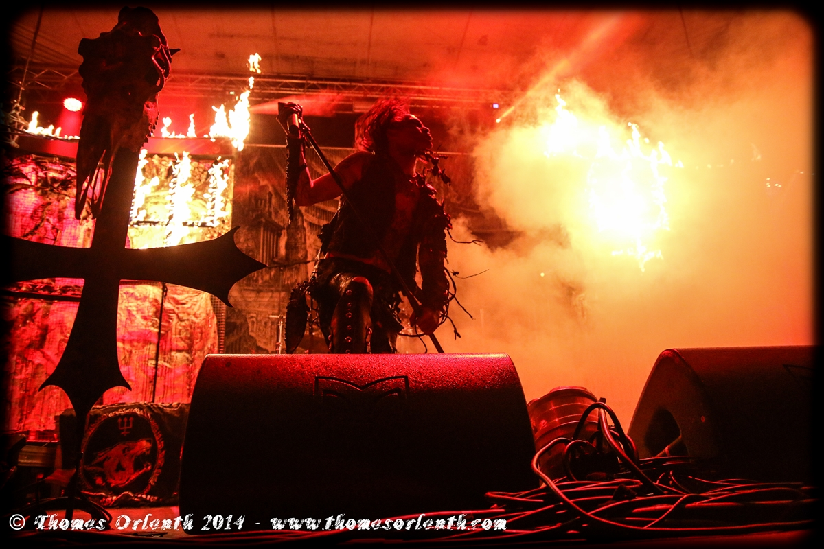 Watain au Fall of Summer 2014