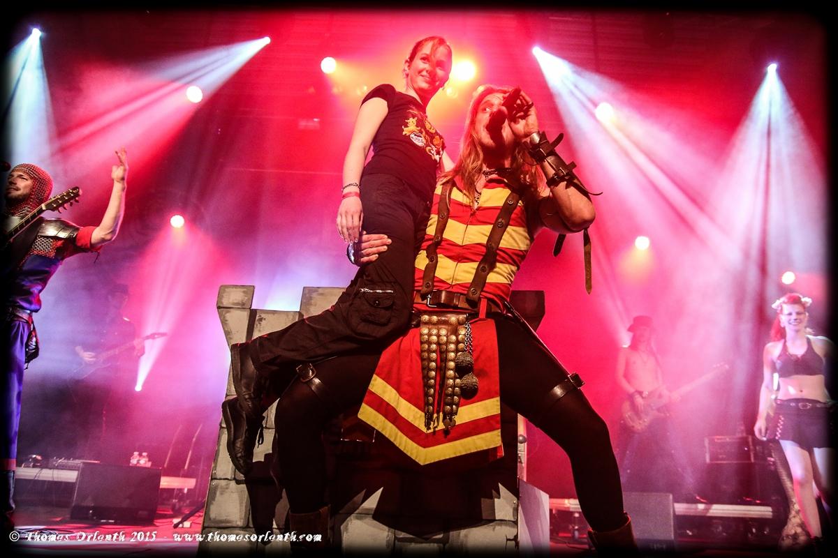Feuerschwantz au festival Trolls & Légendes 2015
