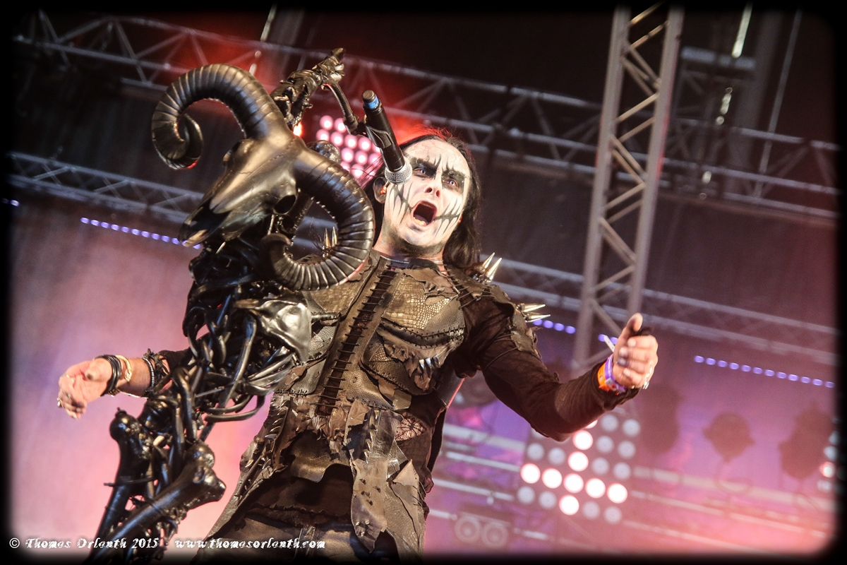 Cradle of Filth au Hellfest 2015 (vendredi)