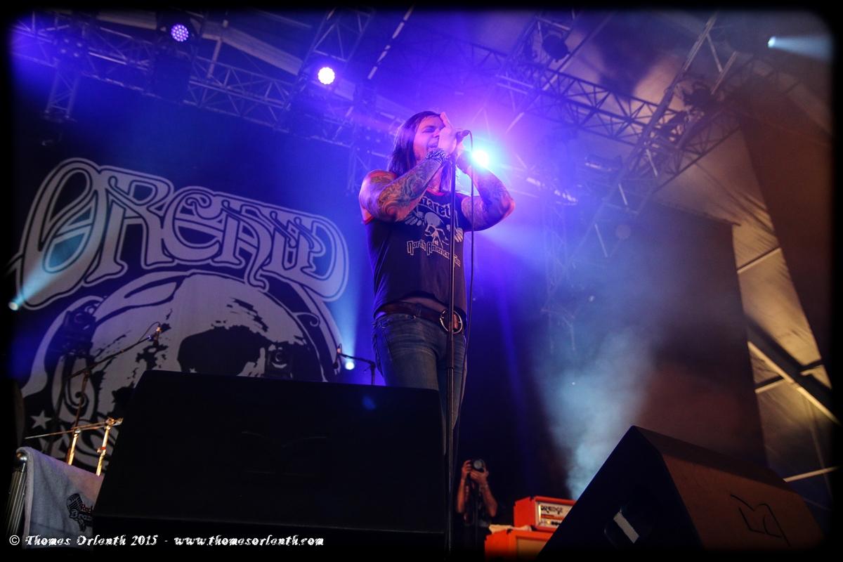 Orchid au Hellfest 2015 (vendredi)