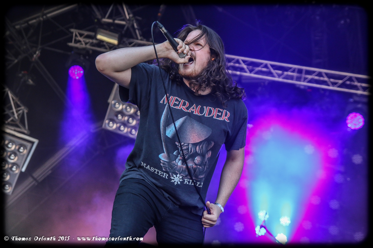 Twitching Tongues au Hellfest 2015 (vendredi)