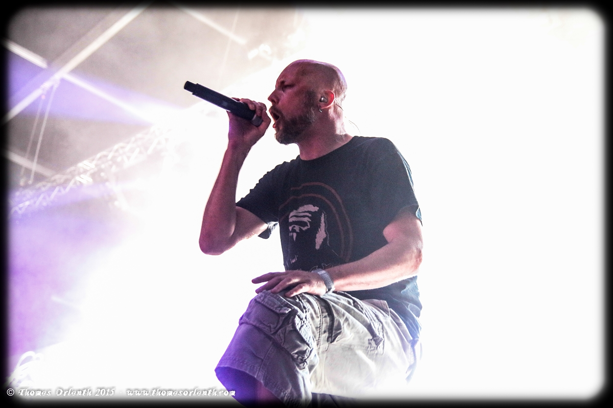 Meshuggah au Hellfest 2015 (vendredi)