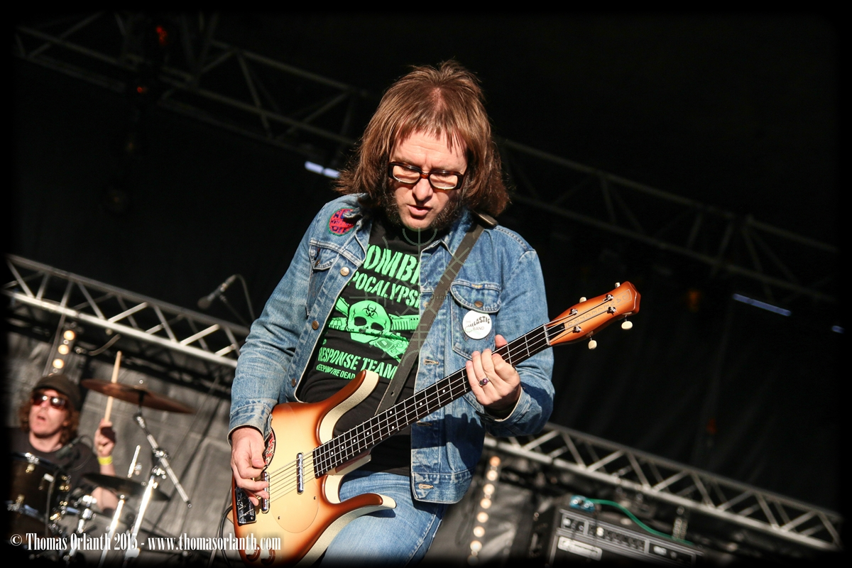The Admiral Sir Cloudesley Shovell au Motocultor 2015 (vendredi)