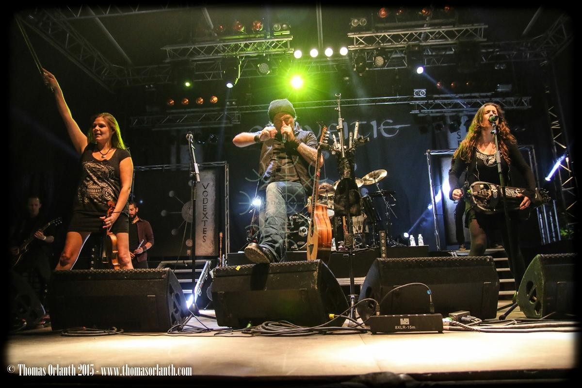 Eluveitie au Motocultor 2015 (vendredi)
