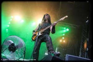 Evohé au Ragnard Rock Festival 2015 (vendredi)