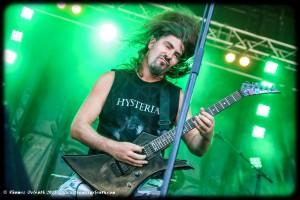 Hysteria au Ragnard Rock Festival 2015 (vendredi)