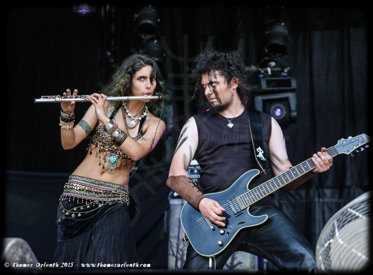 Helroth au Ragnard Rock Festival 2015 (samedi)