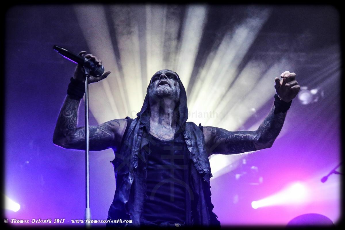 Primordial au Ragnard Rock Festival 2015 (samedi)