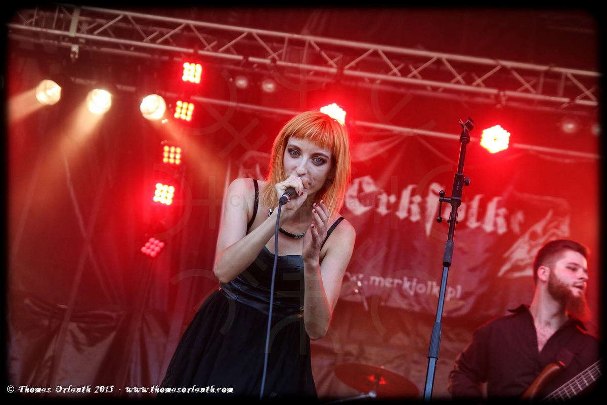 Merkfolk au Ragnard Rock Festival 2015 (vendredi)