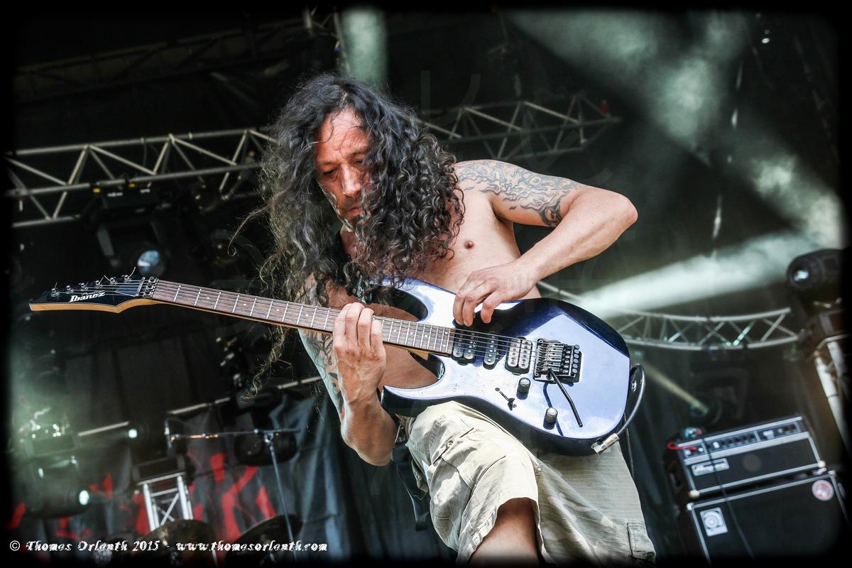 Agressor au Ragnard Rock Festival 2015 (dimanche)