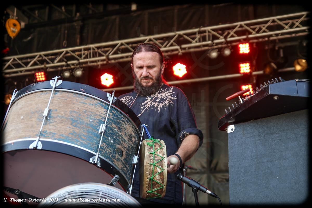 Din Brad au Ragnard Rock Festival 2015 (dimanche)