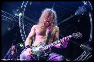 Enslaved au Ragnard Rock Festival 2015 (dimanche)