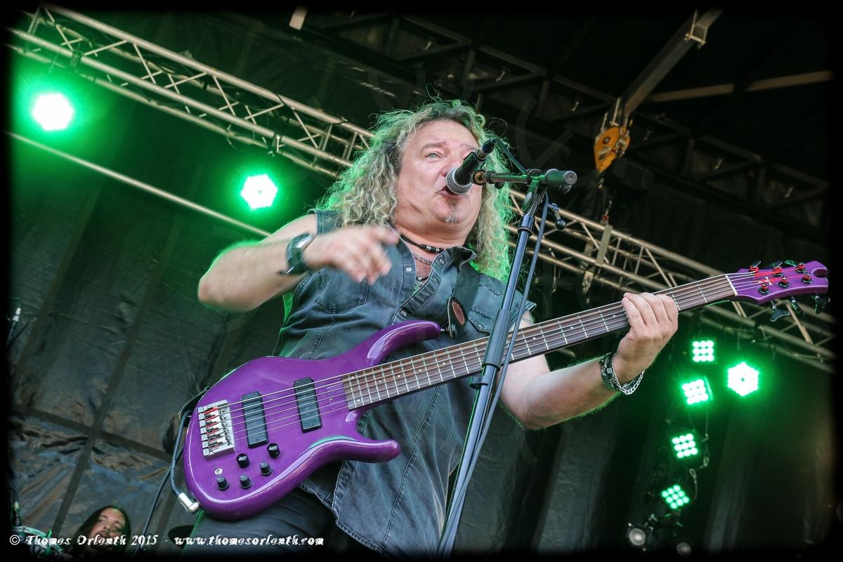 Fortunato au Ragnard Rock Festival 2015 (dimanche)