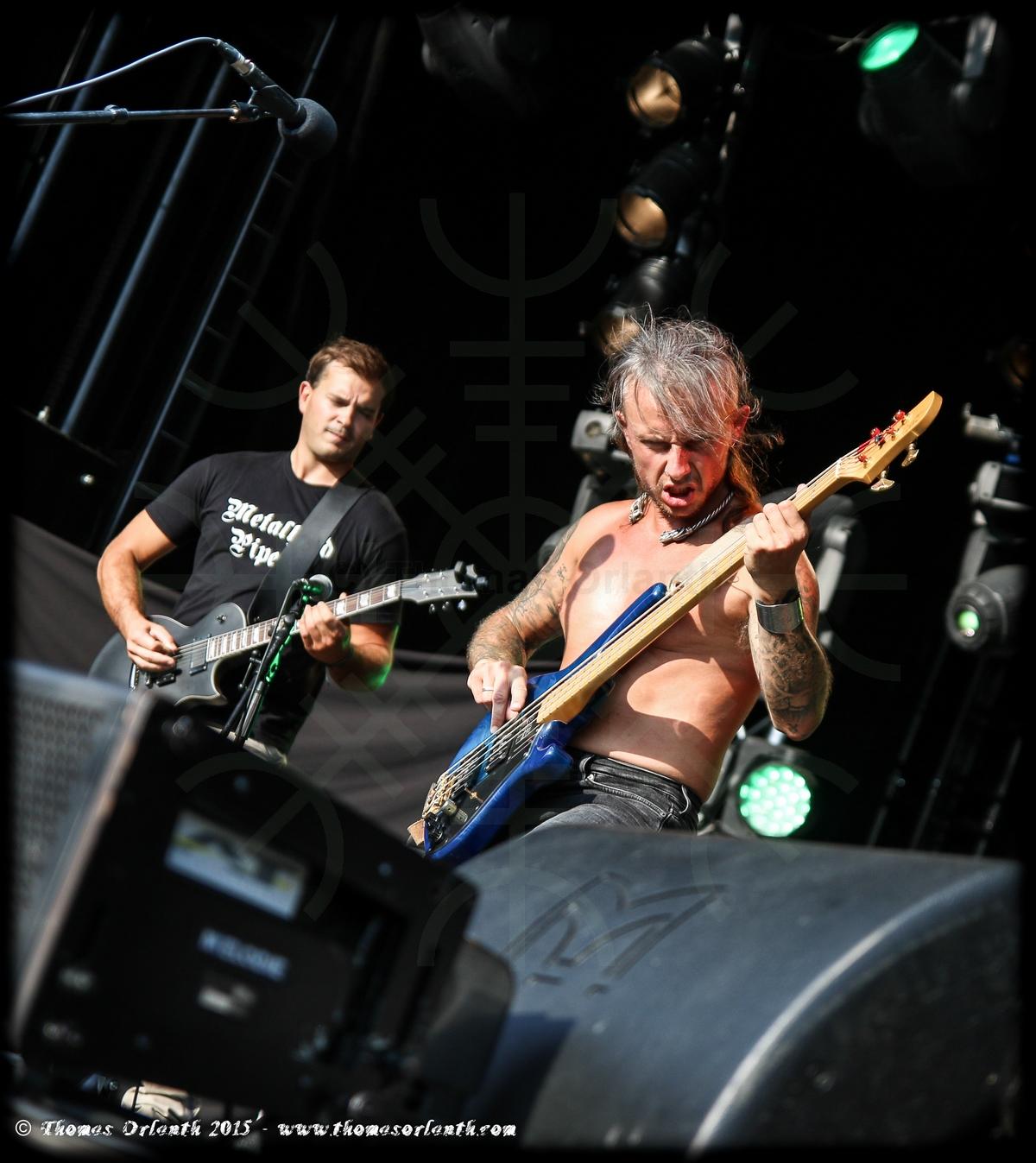 Himinbjorg au Ragnard Rock Festival 2015 (dimanche)