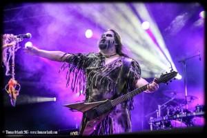 Nokturnal Mortum au Ragnard Rock Festival 2015 (dimanche)