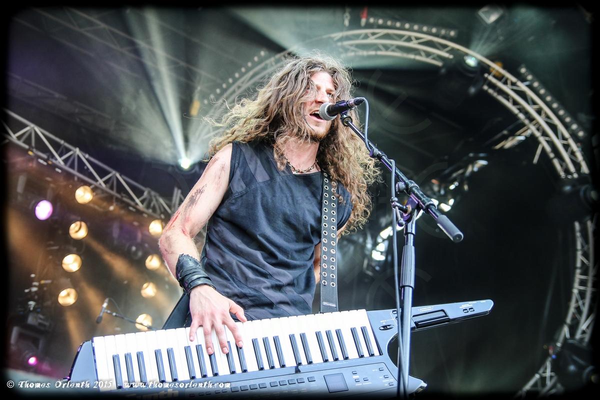 Aktarum au Ragnard Rock Festival 2015 (dimanche)