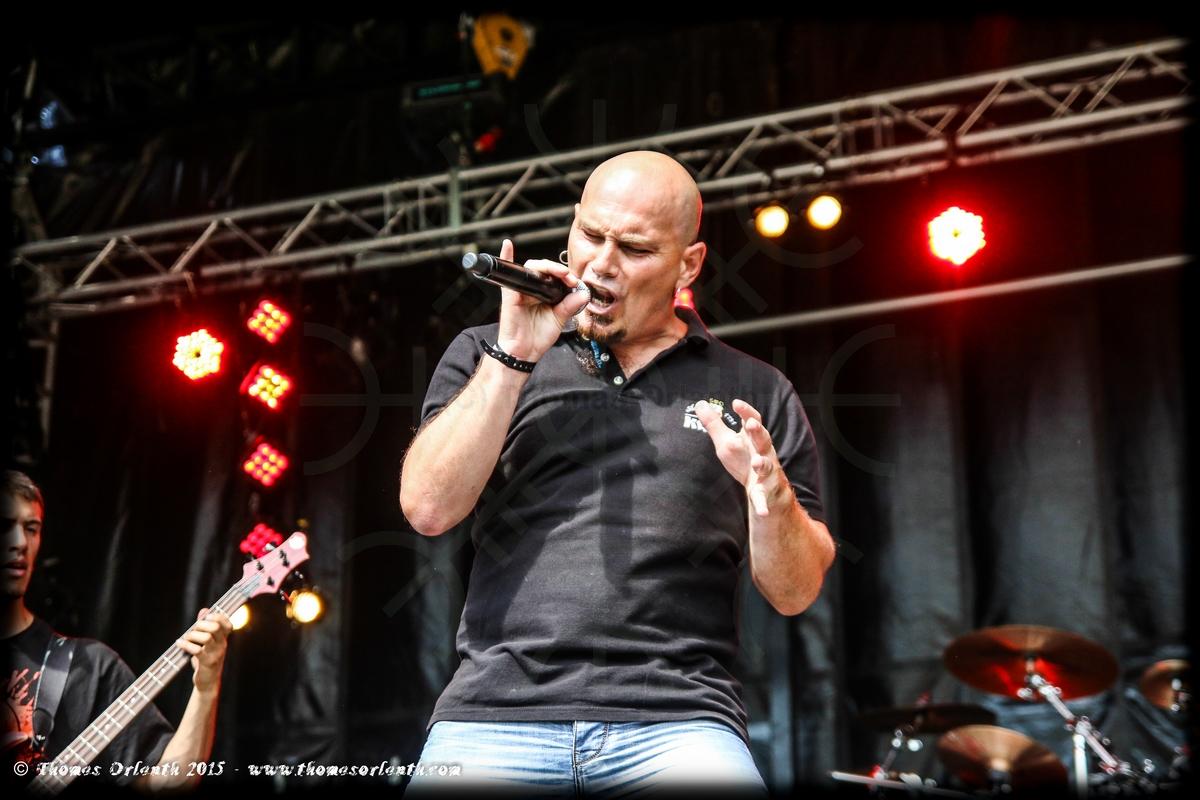 Triops au Ragnard Rock Festival 2015 (dimanche)