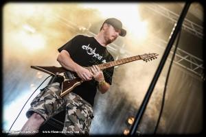 Skinless au Hellfest 2015