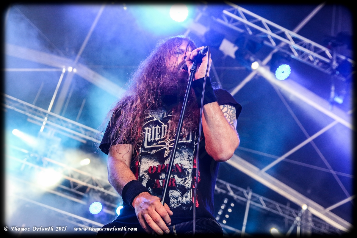Morgoth au Hellfest 2015