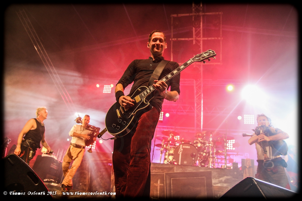 In Extremo au Hellfest 2015
