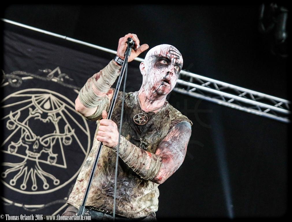 Behexen au Hellfest 2016