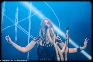 Myrkur au Hellfest 2016