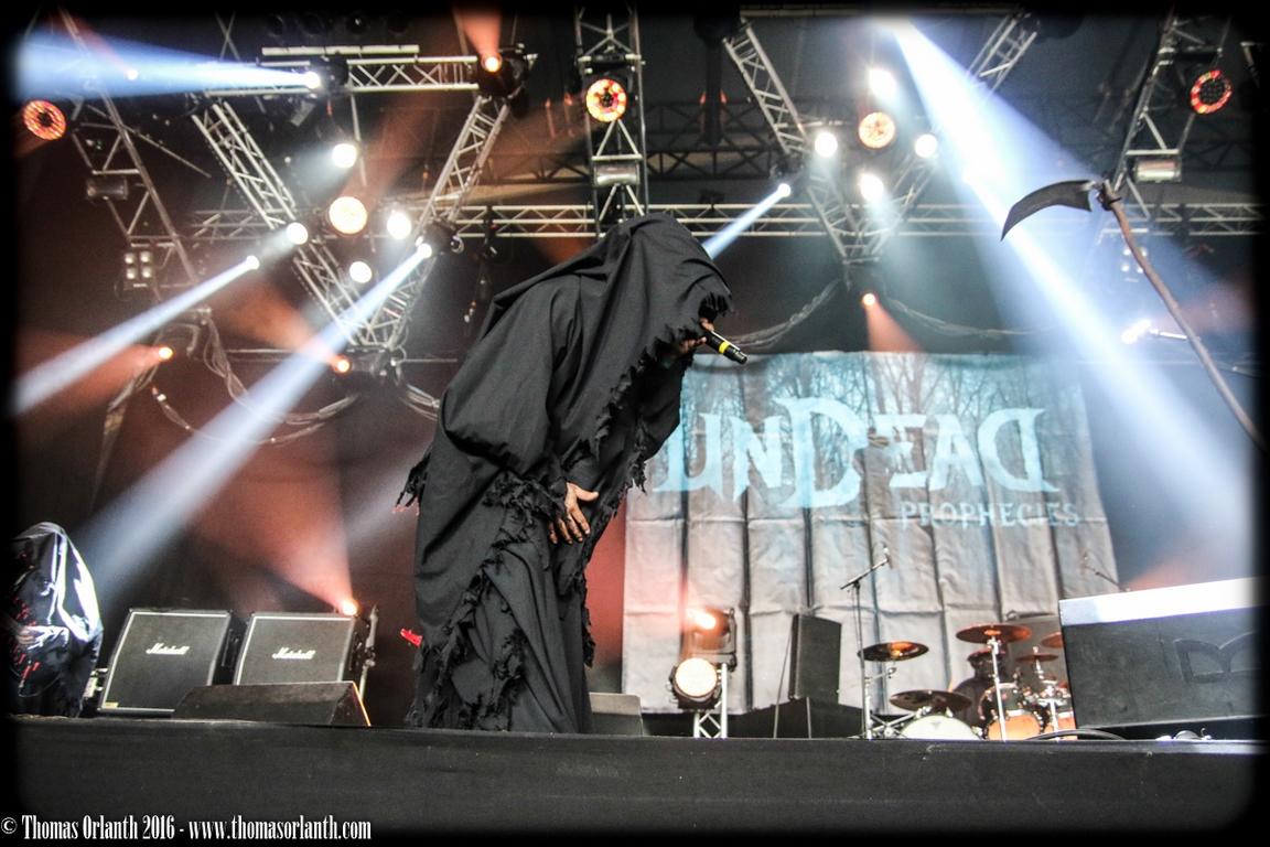 Undead Prophecies au Hellfest 2016