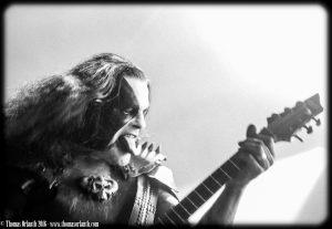 Abbath au Hellfest 2016