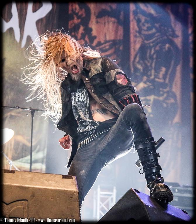Kampfar au Hellfest 2016