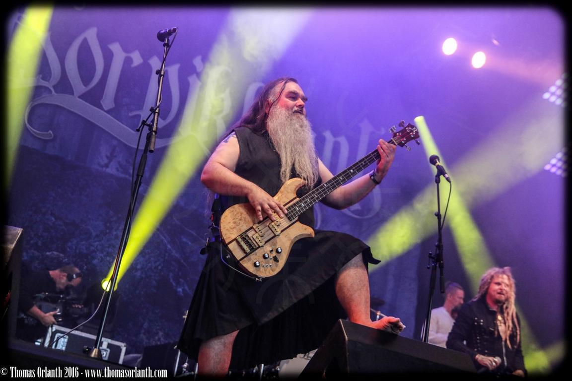 Korpiklaani au Hellfest 2016