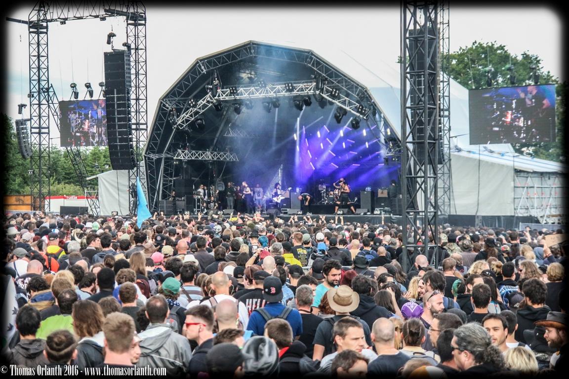 Killswitch Engage au Hellfest 2016