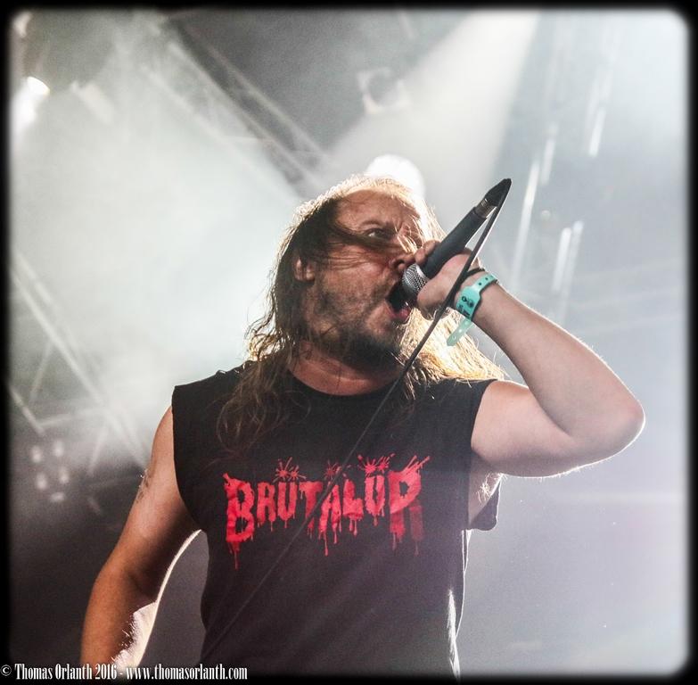 Entombed A.D. au Hellfest 2016