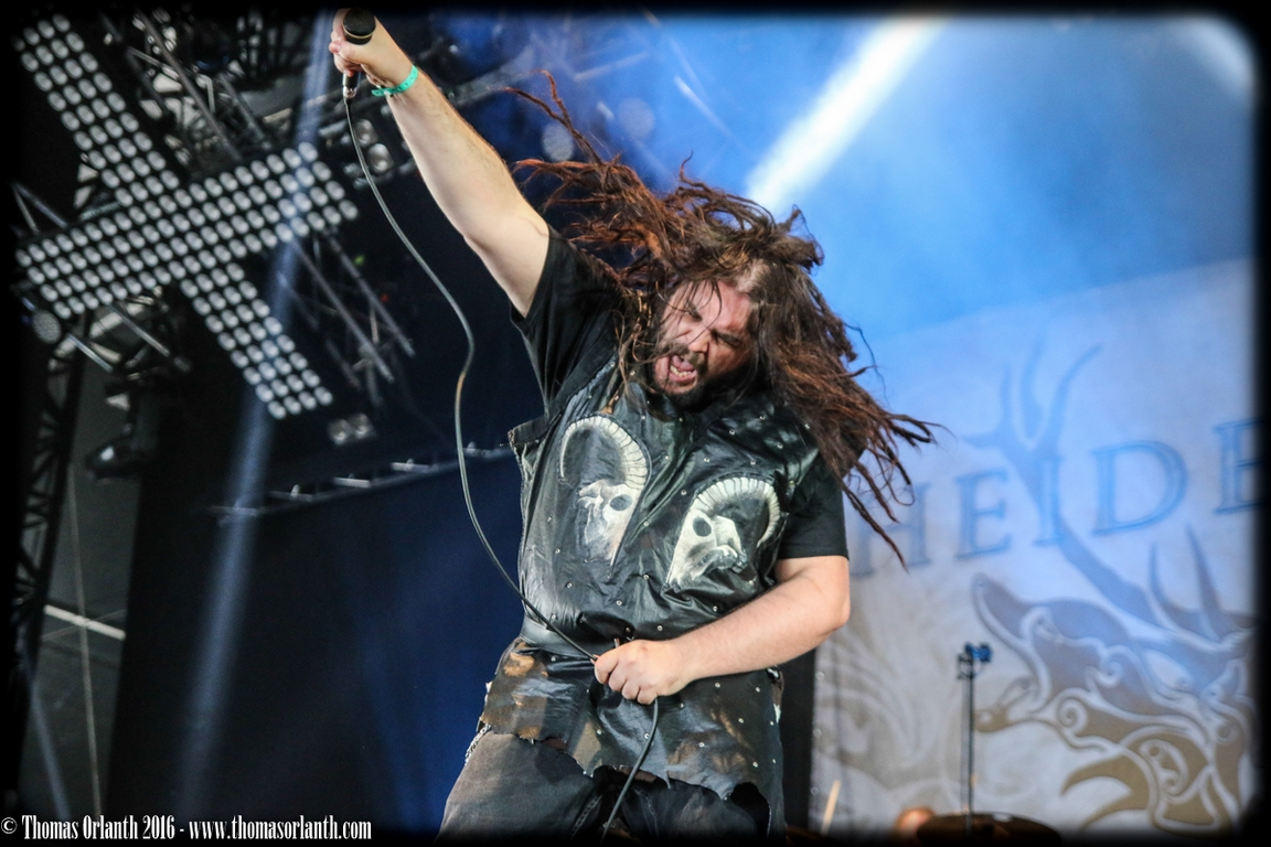 Heidevolk au Hellfest 2016