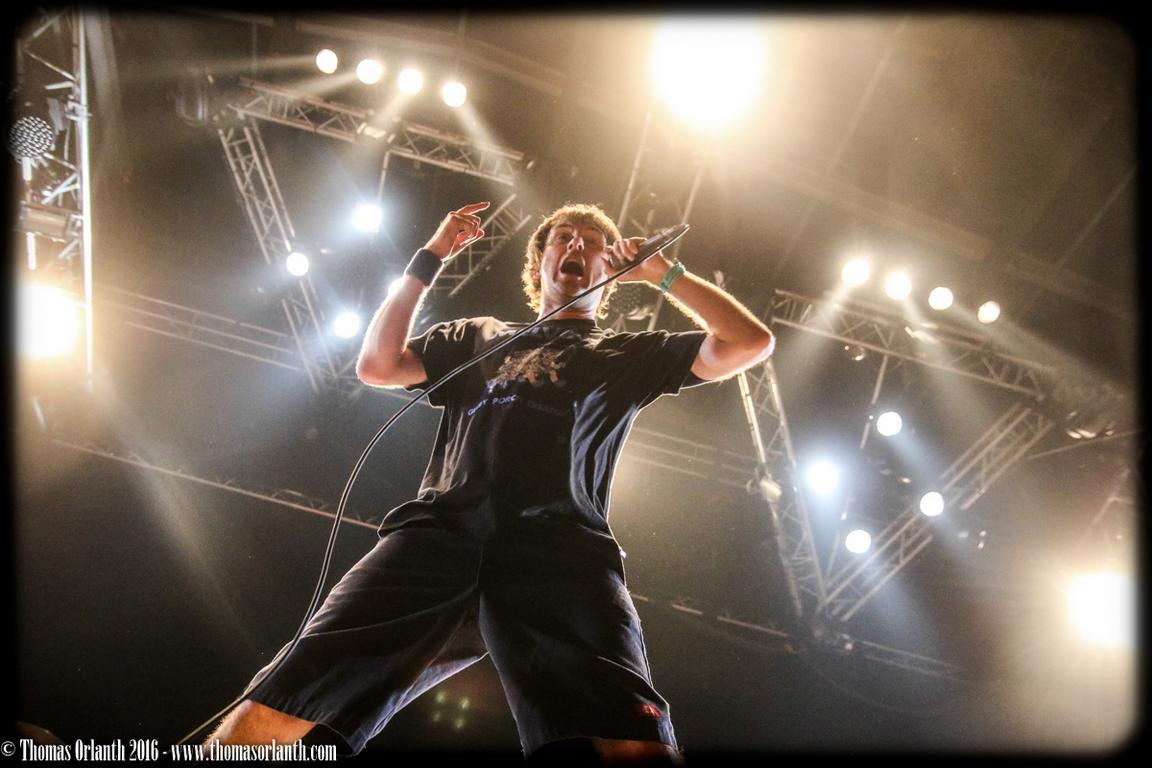 Napalm Death au Hellfest 2016