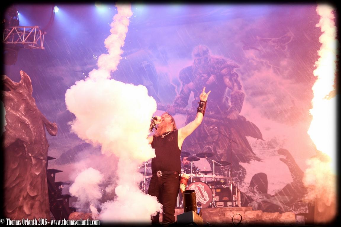Amon Amarth au Hellfest 2016