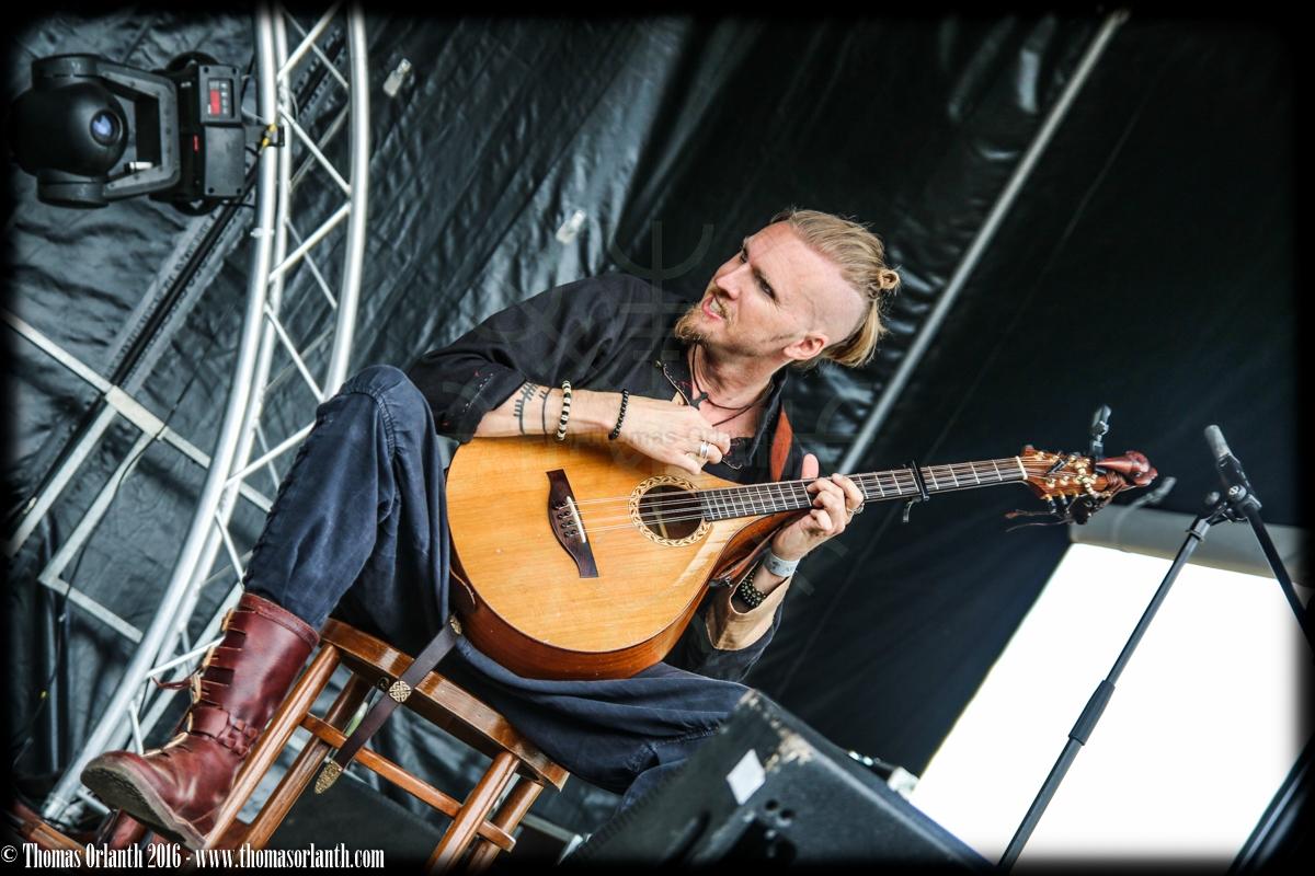 Kaunan au Ragnard Rock Fest 2016