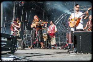 Les Compagnons du Gras Jambon au Ragnard Rock Fest 2016